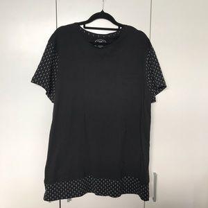 YD Mens T Shirt Black Size XL NWOT
